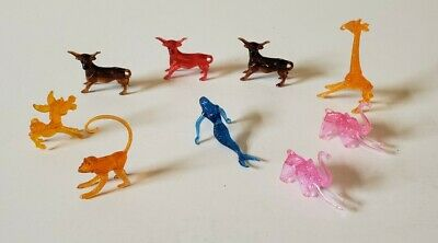 Sonic Drive-In Vintage Drink Cups Collectible Animals - Lot of 9 assorted