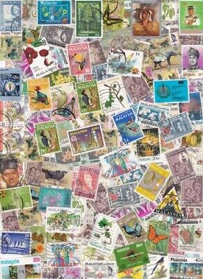 Malaya/ Malaysia Collection  from Stamp Hoard  108 Mint/Used Mostly Different