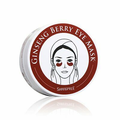 Shangpree Gingseng Berry Eye Mask 60pcs Ant-aging Eye Treatment Mask