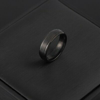 8MM Stainless Steel Ring Band Titanium Silver Black Gold Men Size 7 to 12 NC
