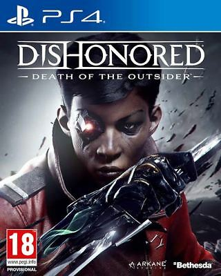 Dishonored: Death of the Outsider (PS4)  BRAND NEW AND SEALED - QUICK DISPATCH
