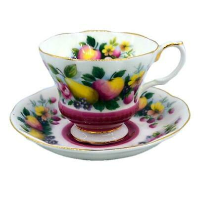 Royal Albert Country Fayre Surrey Floral China tea cup and saucer