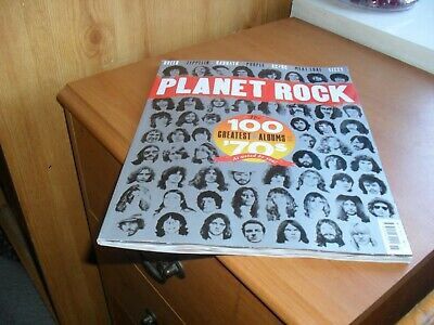 PLANET ROCK MAGAZINE ISSUE 15 (100 GREATEST ALBUMS OF 70s (ZEP, SABBATH, AC/DC)