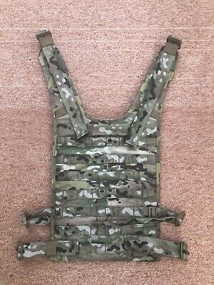 Warrior Assault Systems 901 Chest Rig Current Back Panel Multicam UKSF