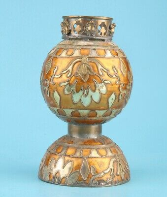 Chinese Cloisonne Hand-Carved Candlestick Auspicious High-End Decoration