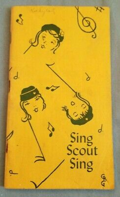 Girl Scout Sing - Vintage Songbook - Made in Delaware - 1960s