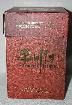 Buffy The Vampire Slayer The Complete Dvd Collectors Edition Vhtf