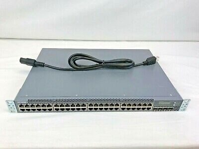🔥 JUNIPER NETWORKS EX3300-48P PoE+ SFP+ 10GB Gigabit switch
