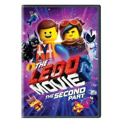 *BRAND NEW* The Lego Movie 2: Second Part - DVD