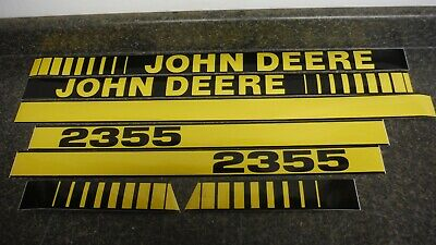 John Deere 2355 Tractor Decals. Hood & Numbers Only. See Details & Pictures