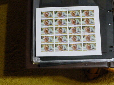 United States Scott 4545 the Mark Twain sheet of 20 forever stamps Mint