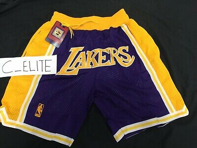 Los Angeles Lakers Showtime Shorts LeBron James Basketball Summer League