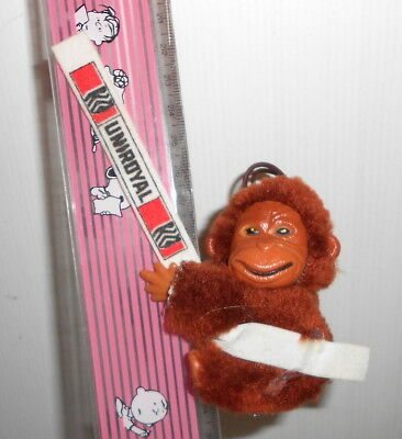 UNIROYAL 80s italy gadget promo puppet clip MONKEY - pupazzo clip SCIMMIA