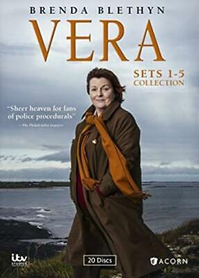 Vera Sets 1-5 Collection 20-Disc Set DVD VIDEO MOVIE 12345 Complete Seasons TV
