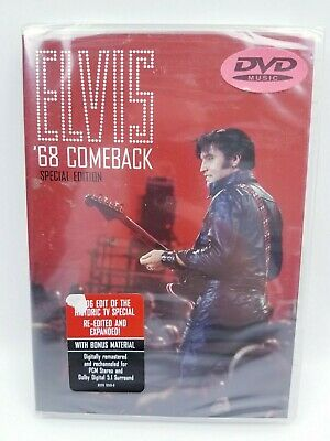 Elvis '68 Comeback Special Edition DVD Music Factory Sealed New Bonus Material