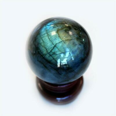 Natural Labradorite Rose Quartz Amethyst Sphere Crystal Ball Healing Citrine New