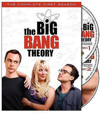 Big Bang Theory - The Complete First Season (DVD, 2008, 3-Disc Set) VERY GOOD