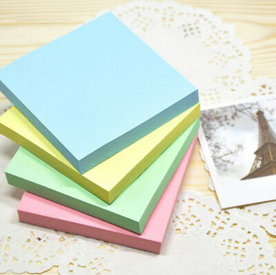 STICKY NOTES Self Adhesive Paper Note Memo Pad Squares Reminders Removable Books