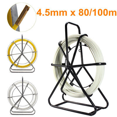 4.5mm Fiberglass Wire Cable Rod Duct Electric Tape Running Pullers Lead  UK