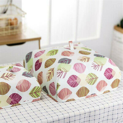Foods Fruits Insulate Case Dish Dust Bowl Cover Anti-Fly Mosquito Kitchen J