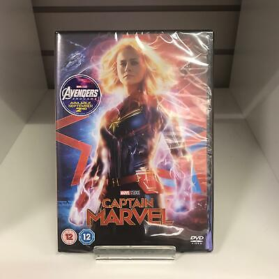 Captain Marvel DVD (2019) Avengers New and Sealed
