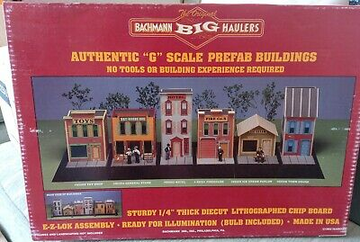 Bachmann 95001 G Scale Fire House, Unopened, Brand New!