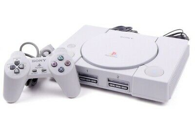 Sony Playstation 1 PS1 Console Retro Complete System Fully Refurbished UK Stock