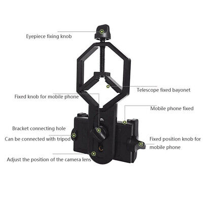 Mount Holder Spotting Scope Mobile Phone Camera Tool Adapter Set high quality