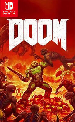 Doom (Switch)  BRAND NEW AND SEALED - IN STOCK - QUICK DISPATCH - FREE UK POST