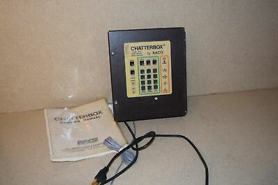 Raco Cb-4 Chatterbox Voice Synthesis Remote Monitor