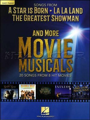 Songs From A Star Is Born La La Land Greatest Showman Easy Piano Music Book