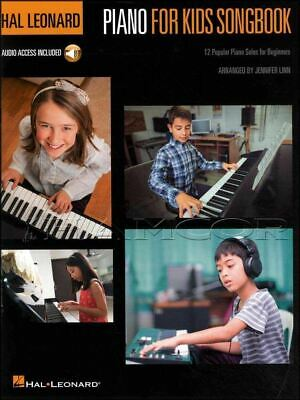 Piano for Kids Songbook Sheet Music Book/Audio Method SAME DAY DISPATCH