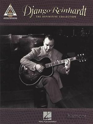 Django Reinhardt The Definitive Collection Recorded Versions Guitar TAB Book