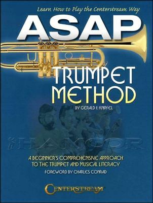ASAP Trumpet Method Learn How To Play Gerald Knipfel SAME DAY DISPATCH