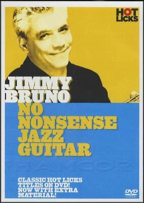 Jimmy Bruno No Nonsense Jazz Guitar Tuition DVD Learn How To Play