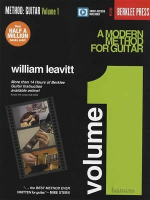 A Modern Method for Guitar Volume 1 Music Book with Video Access William Leavitt