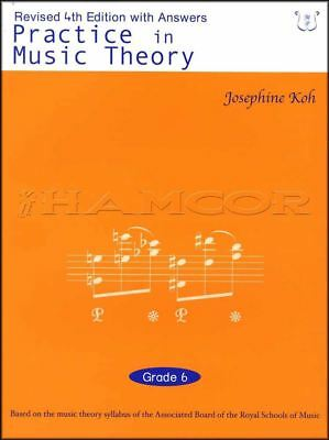 Practice in Music Theory Grade 6 4th Edition Sheet Music Book ABRSM Tests Exams