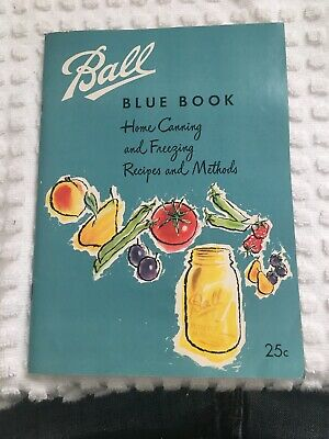 ball blue book canning