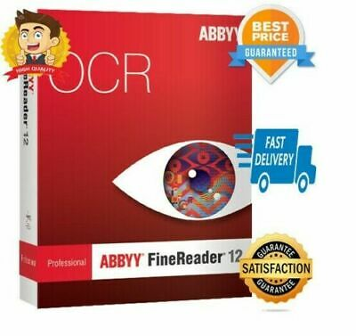 ABBYY FineReader Professional 12  License Key + Download Link Fast E-Delivery