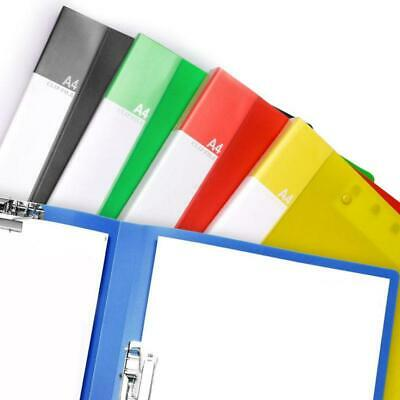 Folding Clipboard Double Clip Paper File Folder Office Storage Document Clean