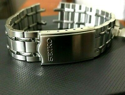 Seiko bellmatic,sports,diver mens watch bracelet strap 19mm lug band new