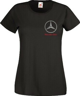 Mercedes Benz Logo T Shirt Motorsport F1 Racing MotoGP Gift Women Ladies Top