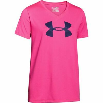 NWT Under Armour UA Girls Sporty Vibes Graphic White S//S T-SHIRT Large L 14-16