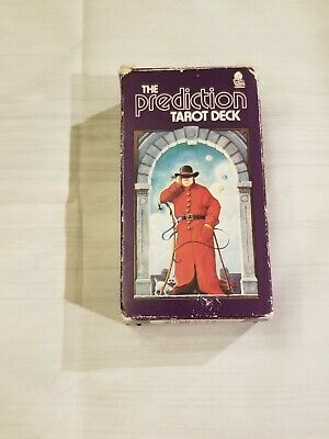 Vintage 1985 THE PREDICTION TAROT DECK 78 Cards 40 Page Instruction Booklet