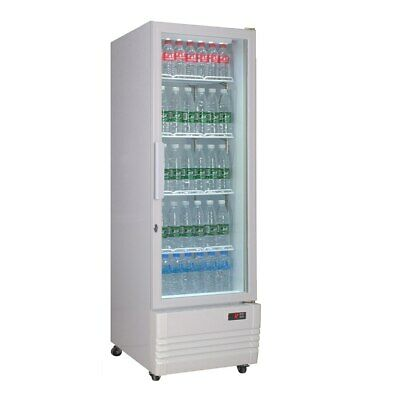 Single Glass Door Colourbond Upright Drink Fridge - LG-220GE