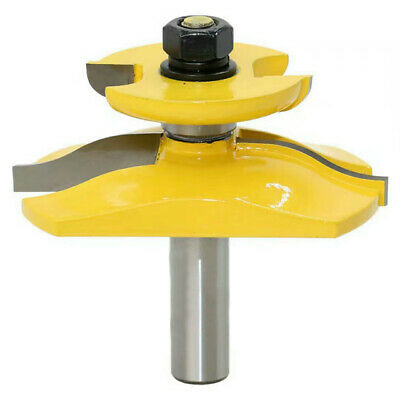 nw Chisel Raised Panel Router Bit W/Backcutter Woodwork Cutter 1/2In Shank
