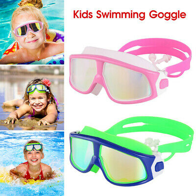 High Quality Junior Youth Swimming Goggles Masks Childrens Kids Swim Goggle *AU