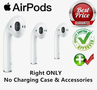 Apple AirPods Right-ONLY In-Ear Replacement Bluetooth Heastset Earphone UK STOCK