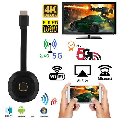 2.4G/5G WIFI HDMI Mirror Screen Wireless Display Adapter Airplay Miracast Dongle