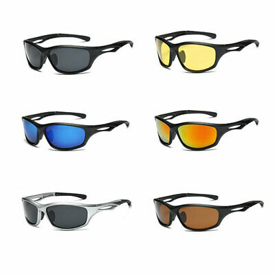 6 Types Lens Polarized Sunglasses Night Vision Driving Eyewear Glasses New